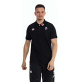 Canterbury IRFU 2020 Cotton Polo, Black