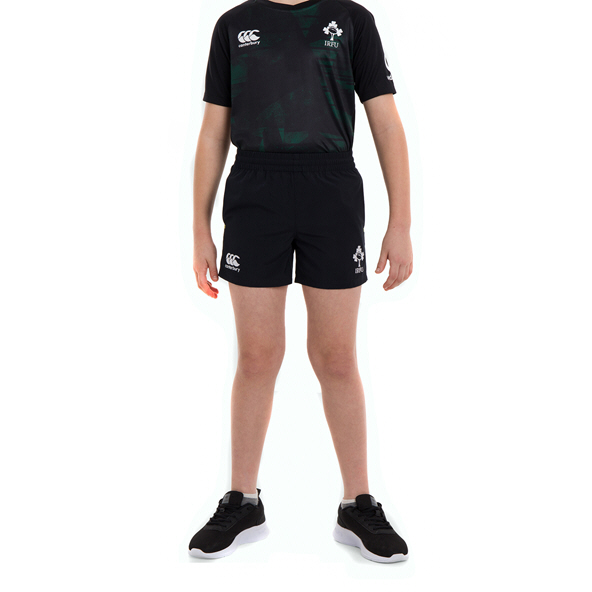 Canterbury IRFU 2020 Kids' Woven Short, Black