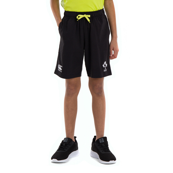 Canterbury IRFU 2020 Kids' Cotton Short, Black