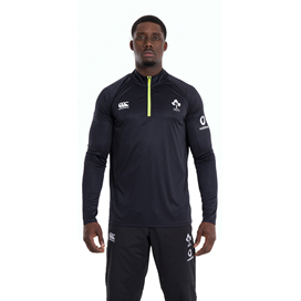 Canterbury IRFU 2020 Midlayer ¼ Zip Top, Black