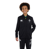Canterbury IRFU 2020 Kids' Track Jacket, Black