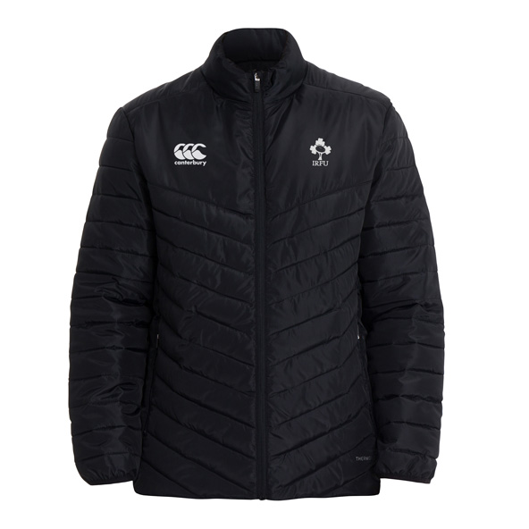 Canterbury IRFU 2020 Padded Jacket, Black