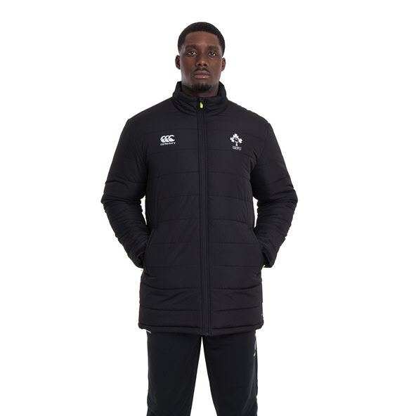 Canterbury IRFU 2020 Coaches Jacket, Black