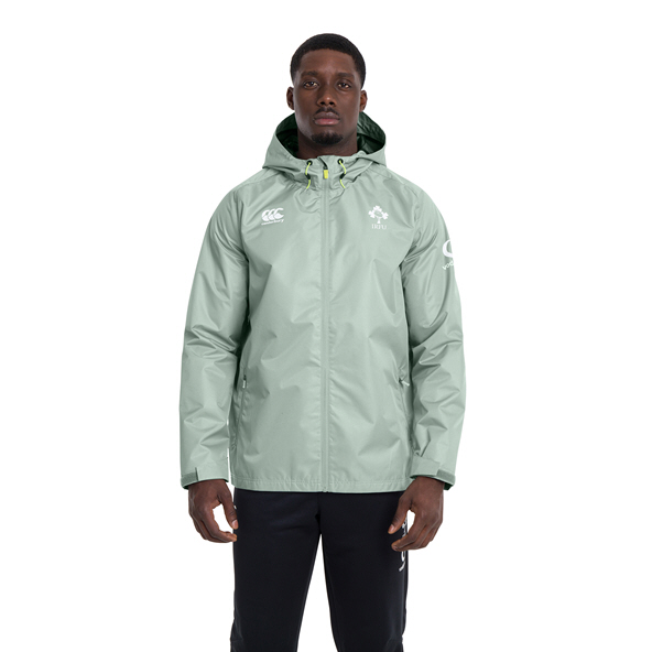 Canterbury IRFU 2020 Rain Jacket, Green