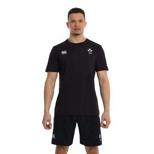 Canterbury IRFU 2020 Cotton T-Shirt, Black