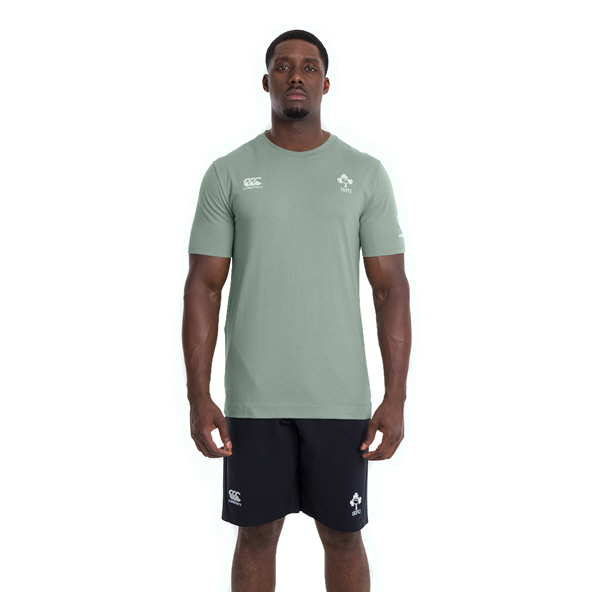 Canterbury IRFU 2020 Cotton T-Shirt, Green