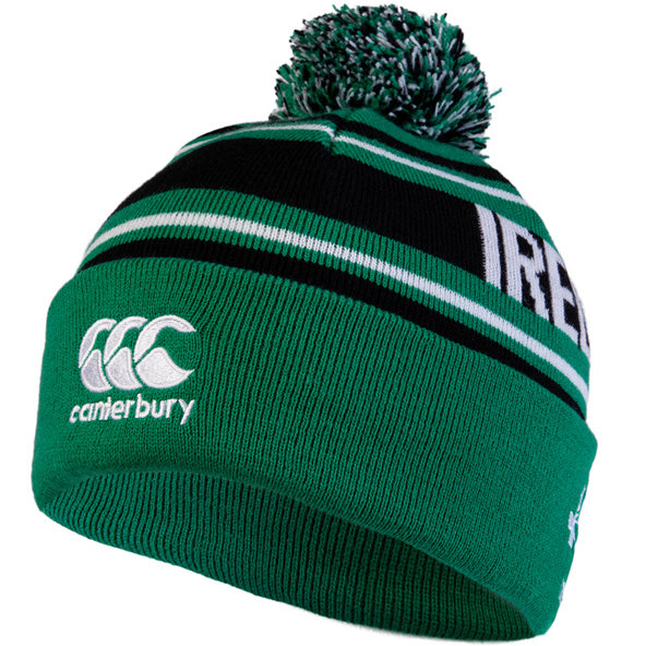 Canterbury IRFU 20 Bobble Beanie Green