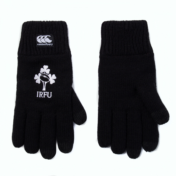 Canterbury IRFU 20 Fleece Glove Black
