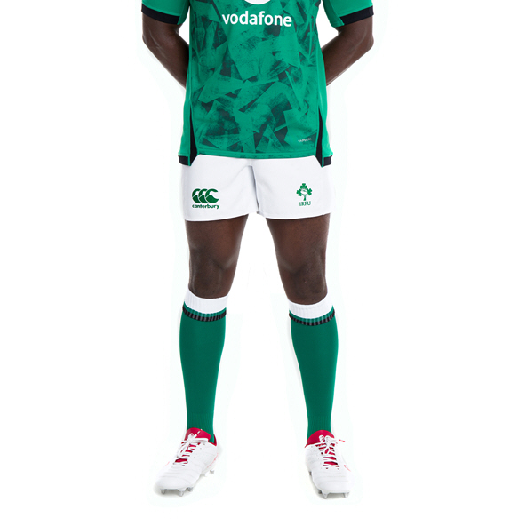 Canterbury IRFU 2020 Home Short, White