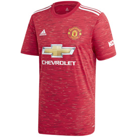 adidas Man United 2020/21 Home Jersey, Red