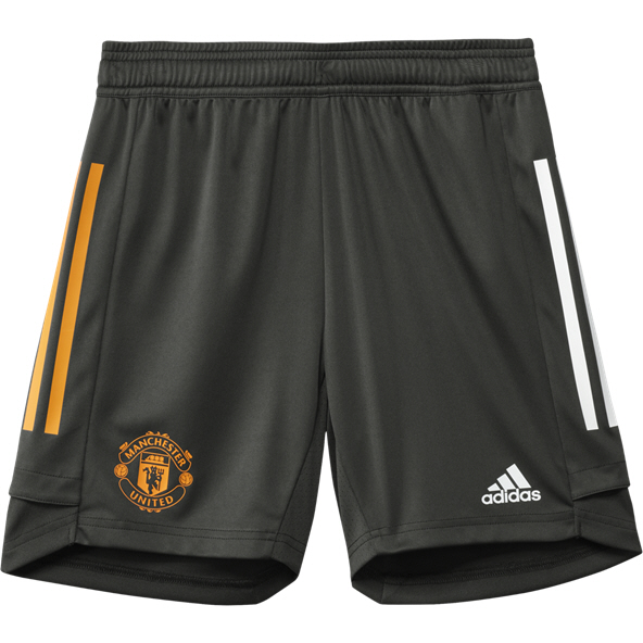 adidas Man United 2020/21 Training Kids' Short, Grey