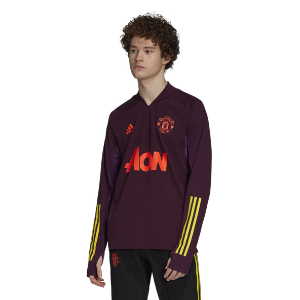 adidas Man Utd Training Track Top Red