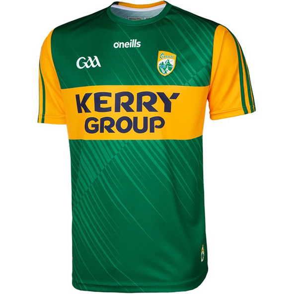 O'Neills Kerry 2020 Player Fit Home Jersey, Green