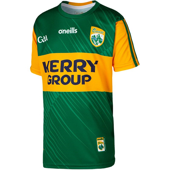 O'Neills Kerry 2020 Home Kids' Jersey, Green