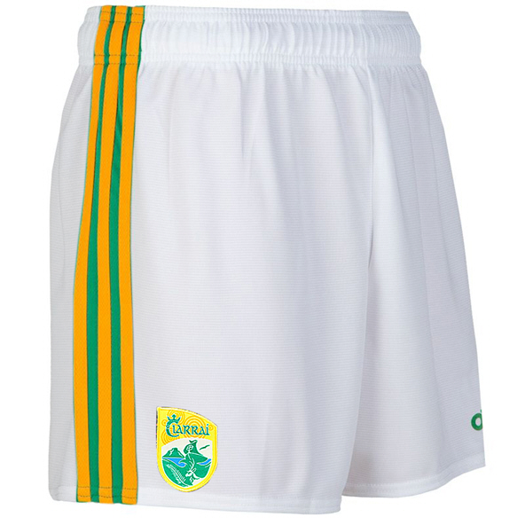O'Neills Kerry 2020 Home Kids' Short, White