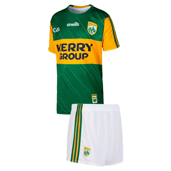 O'Neills Kerry 2020 Kids' Home Kit, Green