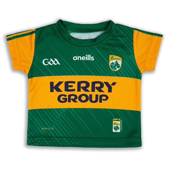 O'Neills Kerry 2020 Junior Home Jersey, Green