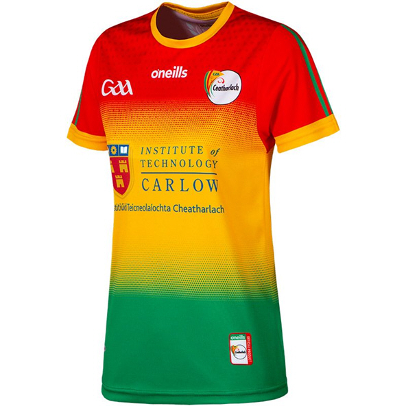O'Neills Carlow 2020 Home Women's Jersey, Red