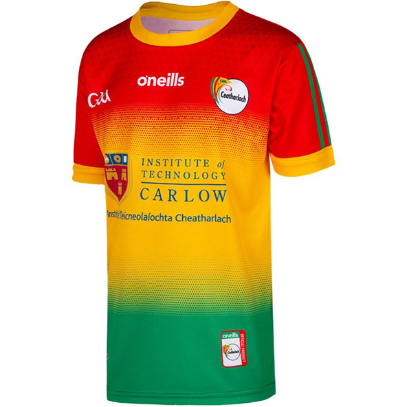 O'Neills Carlow 2020 Home Kids' Jersey, Red