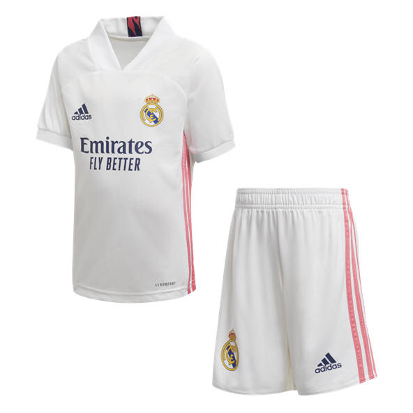 adidas Real Madrid 2020/21 Home Kids' Mini Kit, White