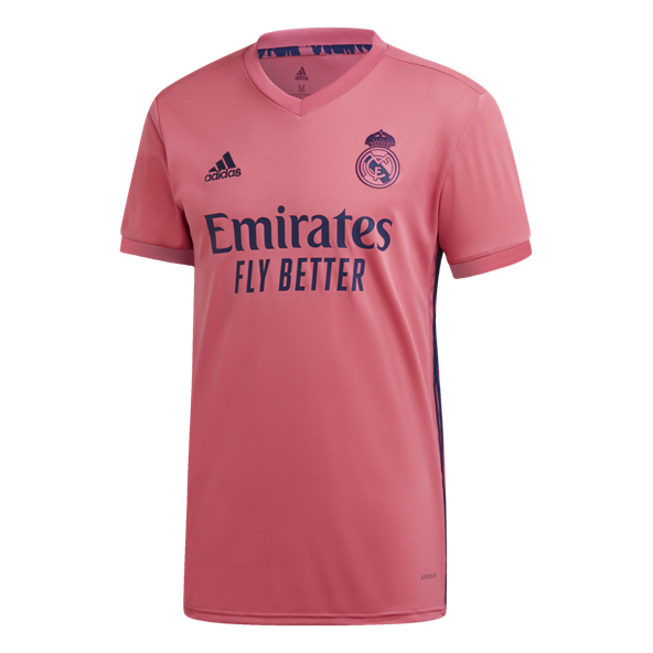 adidas Real Madrid 2020/21 Away Jersey, Pink