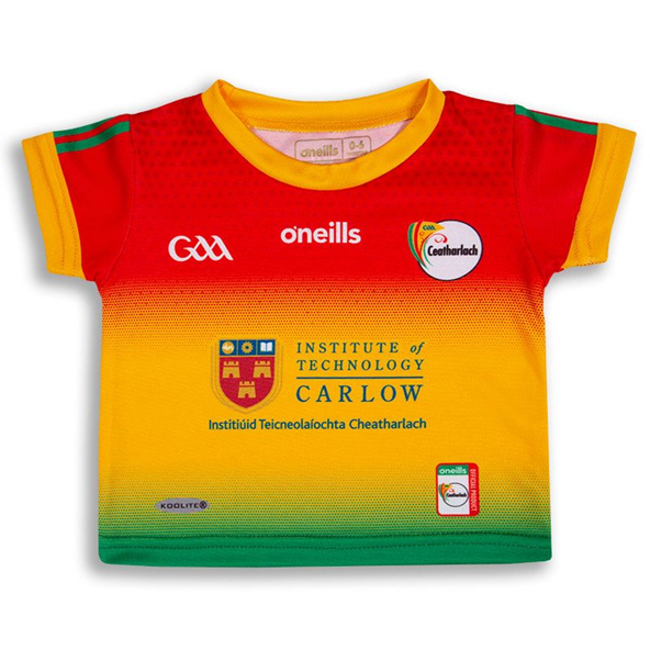 O'Neills Carlow 2020 Junior Home Jersey, Green