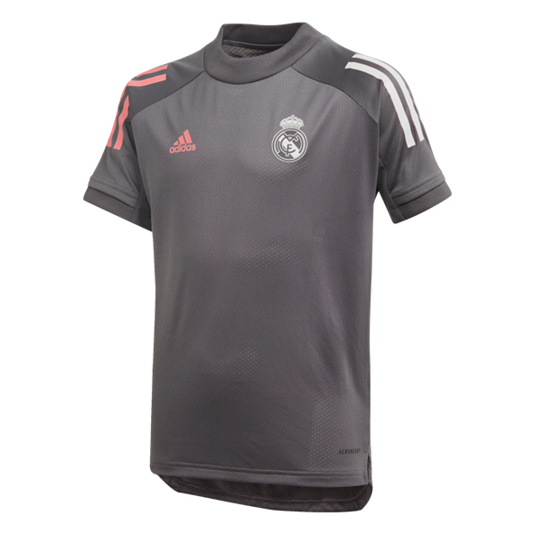 adidas Kids Real Madrid Trn Jersey Grey