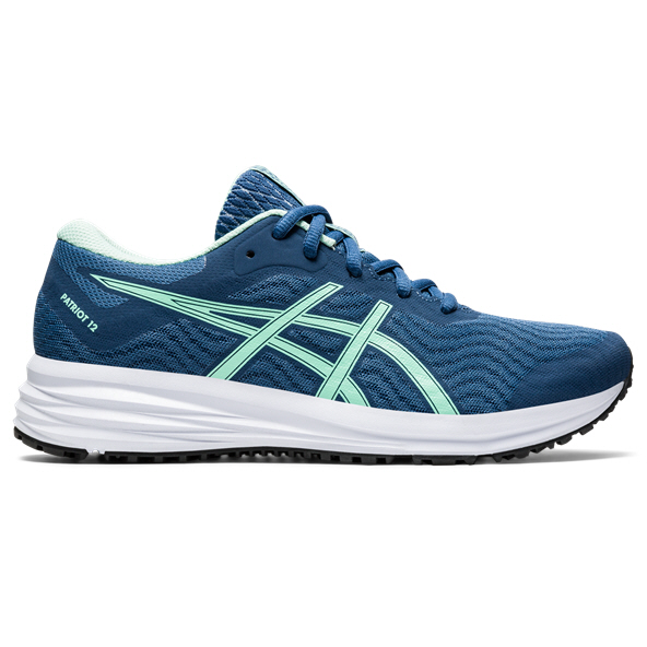 Asics Patriot 12 Women's Running Shoe Grand Shark/Ice