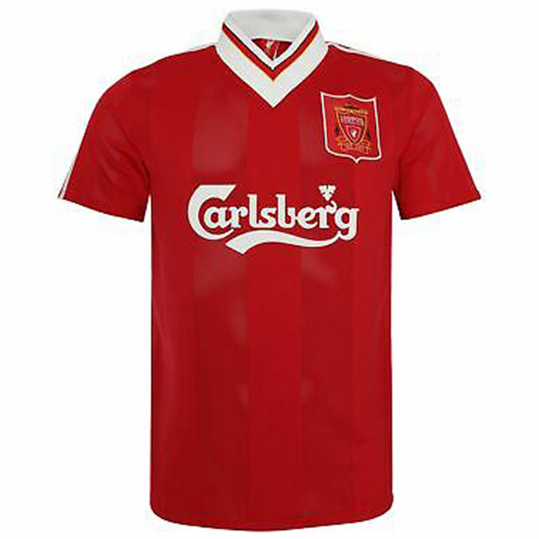 LFC 95-96 Home Jersey Carlsberg Red
