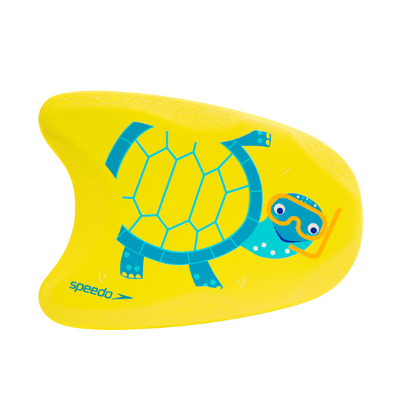 Speedo Turtle Printed Float Yellow/Turquoise