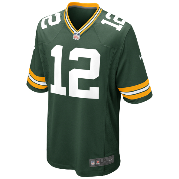 Nike Packers Rodgers Jersey Green