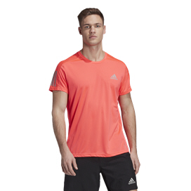 adidas Own The Run Men's Running T-Shirt Pink