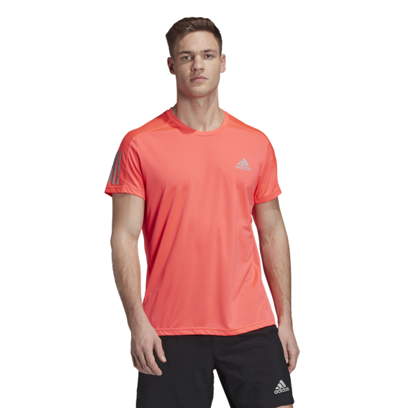 adidas Own The Run Mens Tee Pink