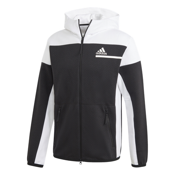adidas Z.N.E. Men's Full Zip Hoody Black