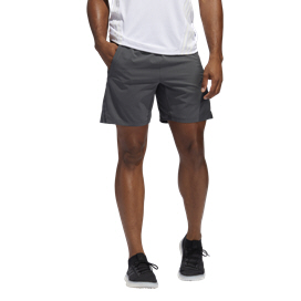 adidas Aeroready 3 Stripe Men's Short Grey