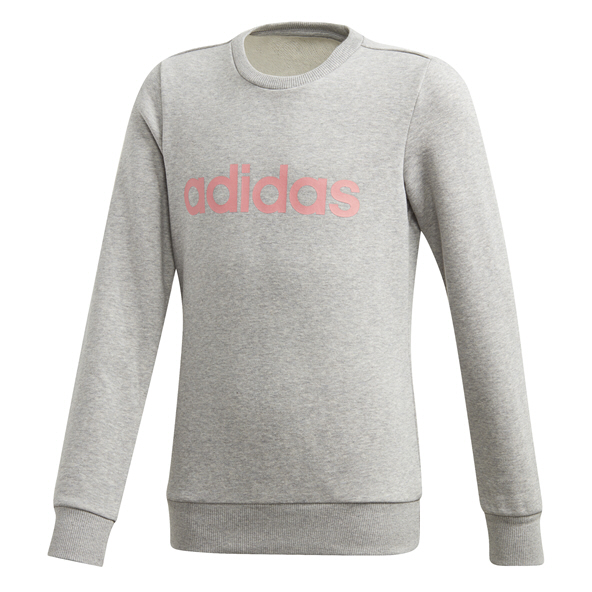 adidas E Lin Girls Sweat Grey