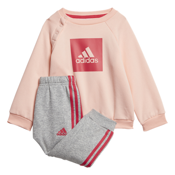 adidas 3S Logo Inf Girl Tracksuit Orange