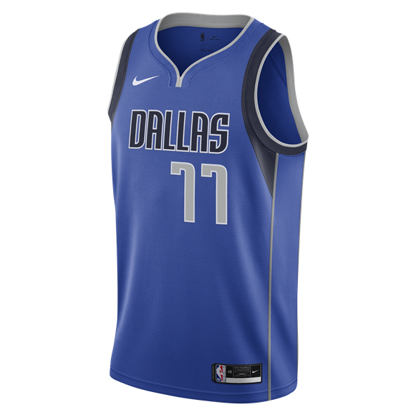 Nike Mavericks Doncic Swingman Jersey Blue