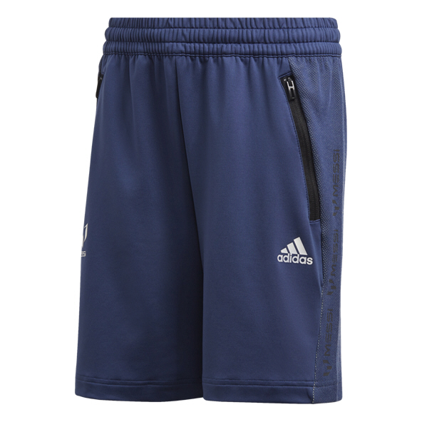 Adidas Messi Icon Boys Shorts Indigo/Wht
