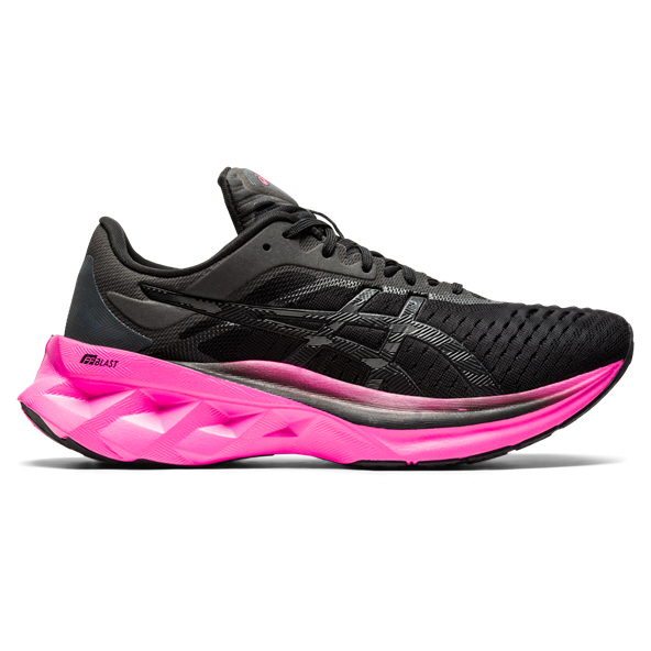 Asics Novablast Womens Run Black/Pink