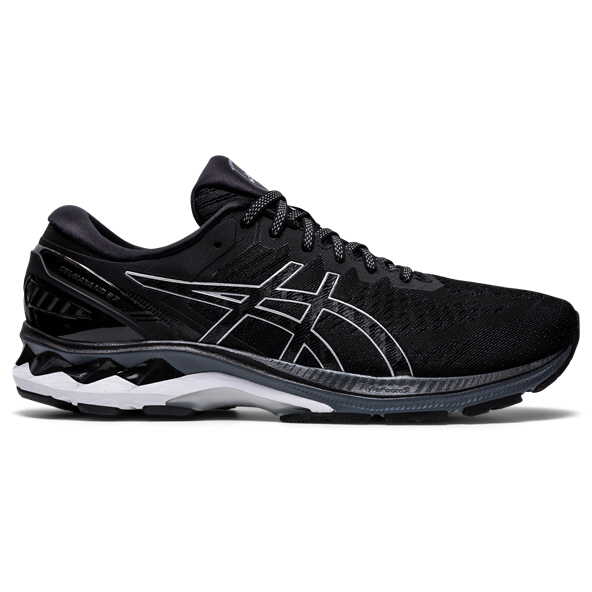 Asics Gel-Kayano 27 Men's Running Shoe Black/Silver
