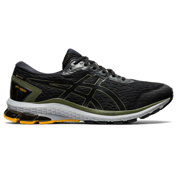 Asics GT-1000 9 GTX Men's Running Shoe Black/Green
