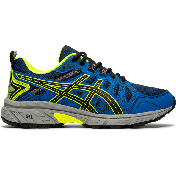 Asics Gel-Venture 7 Boys' Running Shoe Black