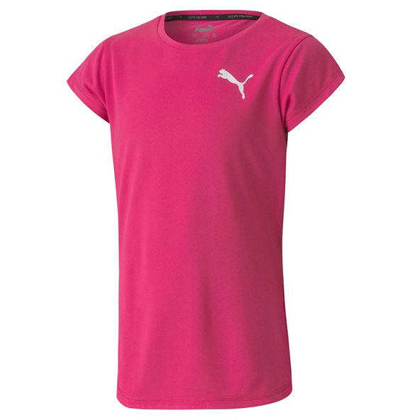 Puma Active Girls Tee Pink
