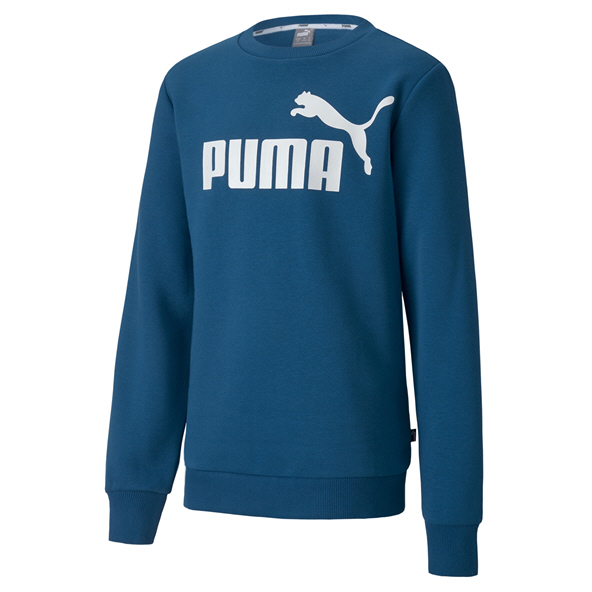 Puma Essential Boys' Crew Top, Blue