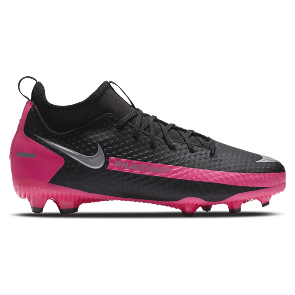 Nike Phantom GT Academy DF MG Kids' Football Boot, Black