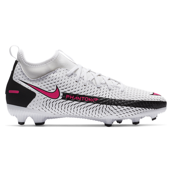 Nike Phantom GT Academy DF MG Kids' Football Boot, White