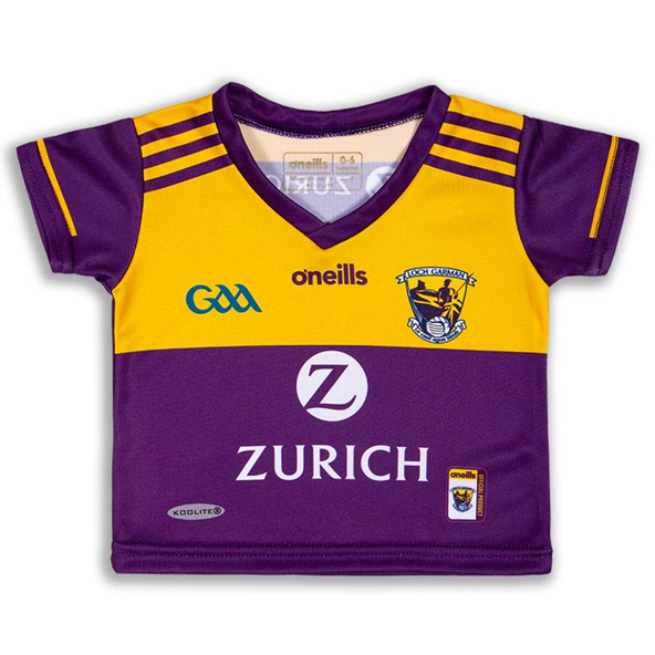 O'Neills Wexford 2020 Junior Home Jersey, Purple