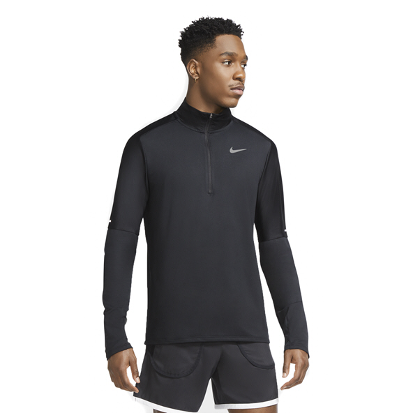 Nike Element Men's 1/2-Zip Running Top Black
