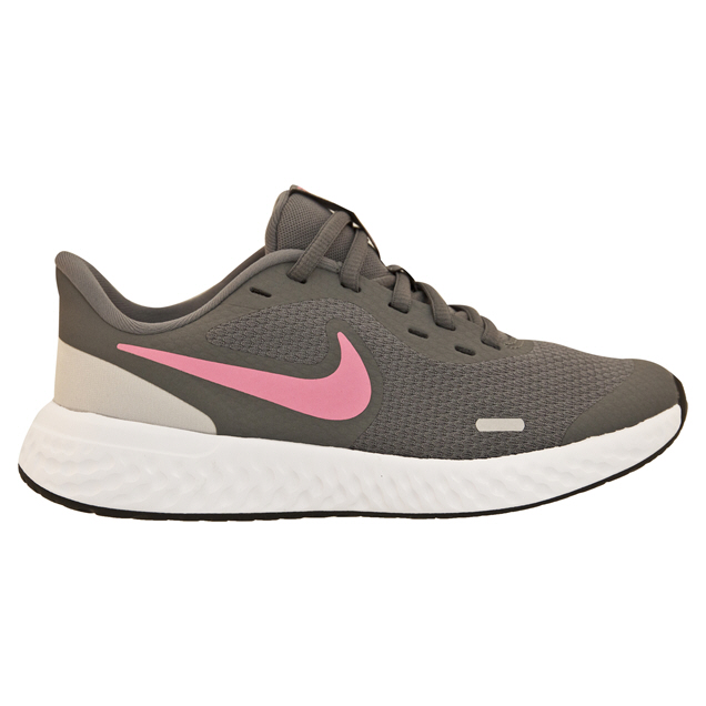 Nike Revolution 5 Girls' Running Shoe, Grey